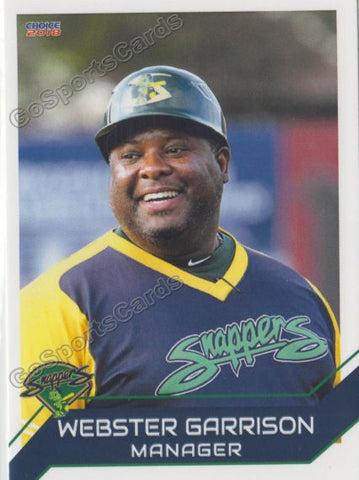 2018 Beloit Snappers Webster Garrison