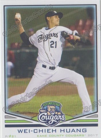 2017 Kane County Cougars Wei Chieh Huang