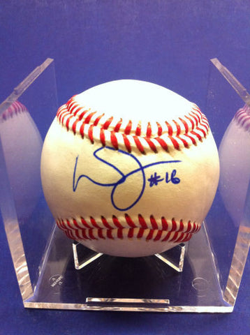 Wendell Fairley Signed Baseball Auto
