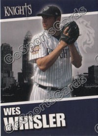 2008 Charlotte Knights Wes Whisler