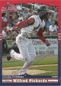 2008 Lowell Spinners Update Wilfred Pichardo