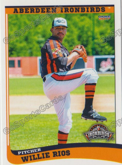 2017 Aberdeen Ironbirds Willie Rios