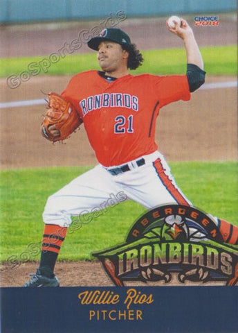 2018 Aberdeen Ironbirds Willie Rios