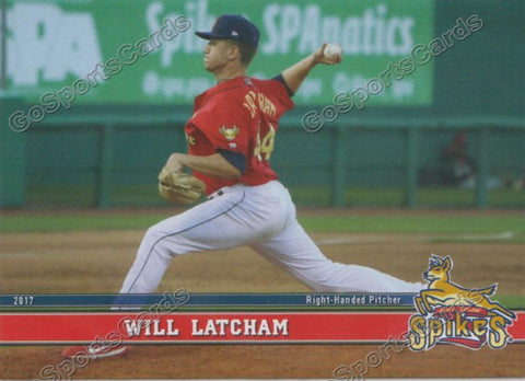 2017 State College Spikes Will Latcham