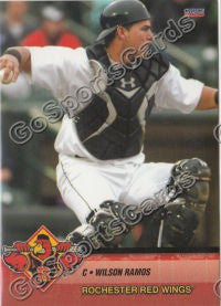 2010 Rochester Red Wings Wilson Ramos