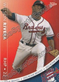 2012 Rome Braves Team Set