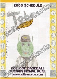 2008 Wilson Tobs Pocket Schedule