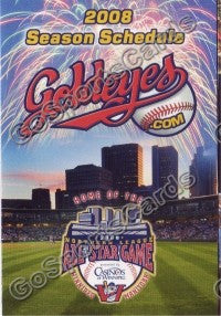 2008 Winnipeg Goldeyes Pocket Schedule