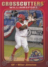 2011 Williamsport Crosscutters Wither Jimenez
