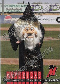 2011 High Desert Mavericks The Rally Wizard Mascot