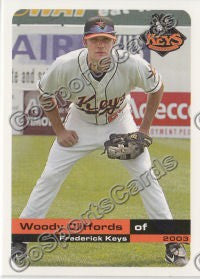 2003 Frederick Keys Woody Cliffords
