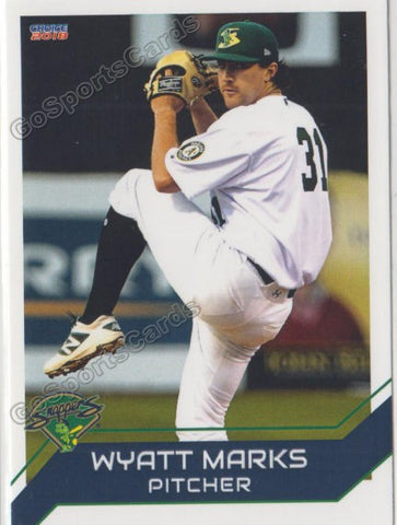 2018 Beloit Snappers Wyatt Marks