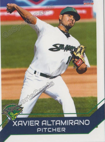 2018 Beloit Snappers Xavier Altamirano