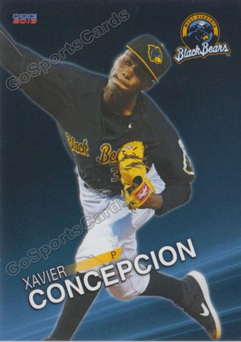2019 West Virginia Black Bears Xavier Concepcion