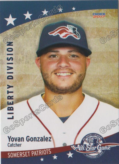 2017 Atlantic League All Star Liberty Yovan Gonzalez