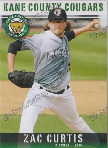 2015 Kane County Cougars Team Set