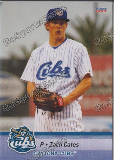 2013 Daytona Cubs Zach Cates