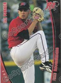 2008 Frisco Roughriders Zack Parker
