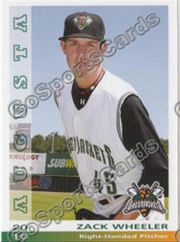 2010 Augusta GreenJackets Team Set