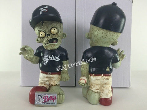Reading Fightins Phils SGA Zombie Garden Gnome Phillies