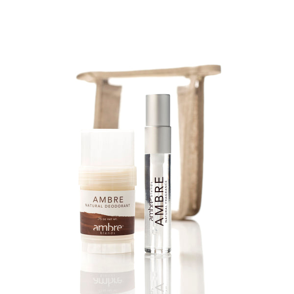 Ambre Essence 10ml + Deodorant Set