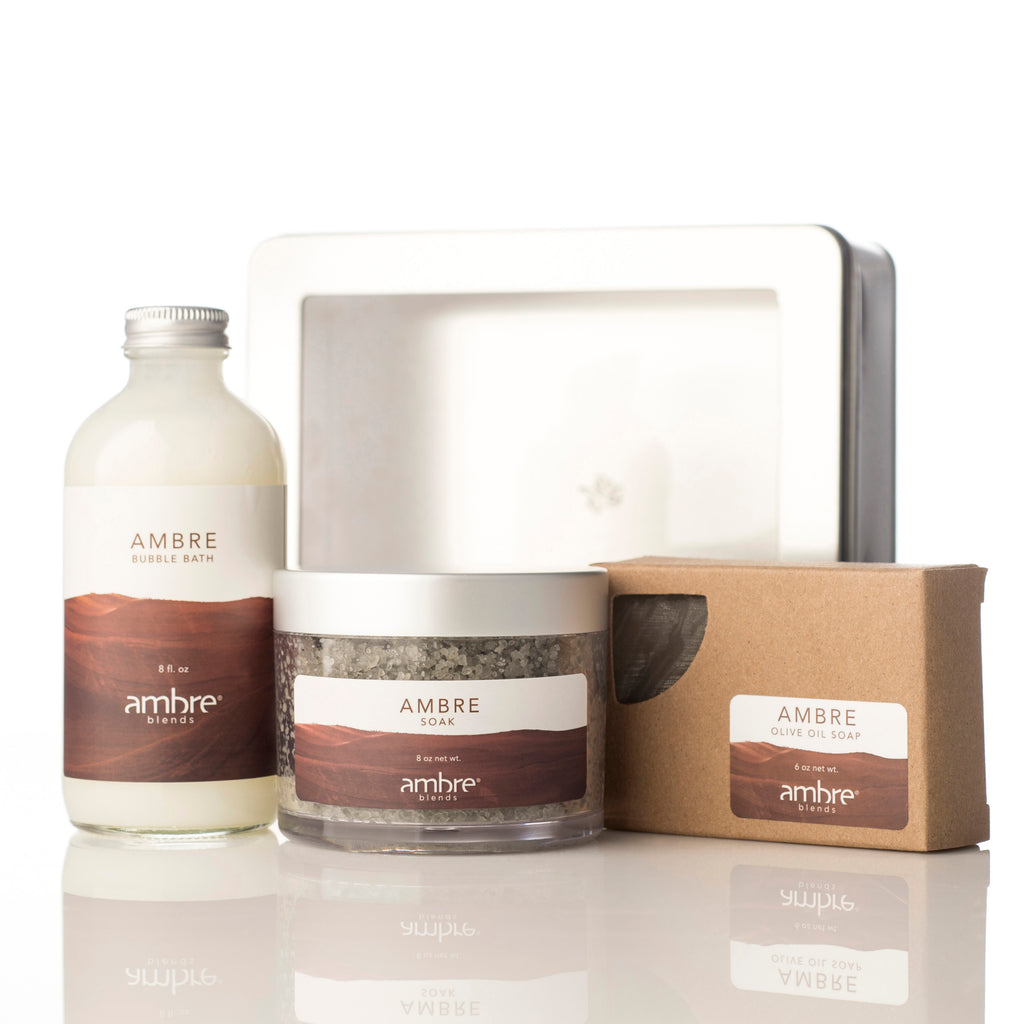 Ambre Essence Bath Set