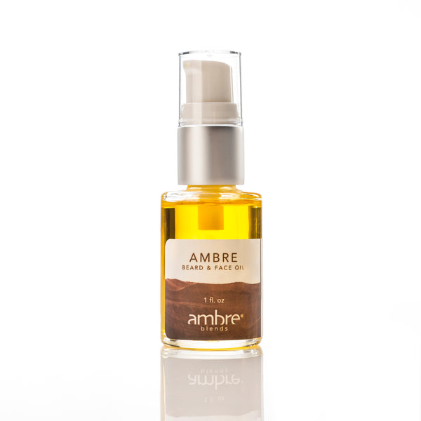 Ambre Beard & Face Oil (1oz)
