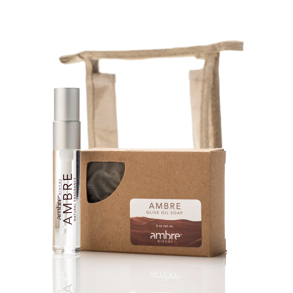 Ambre Soap & 10ml Set