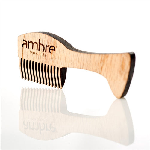 Ambre Blends Mustache & Beard Comb