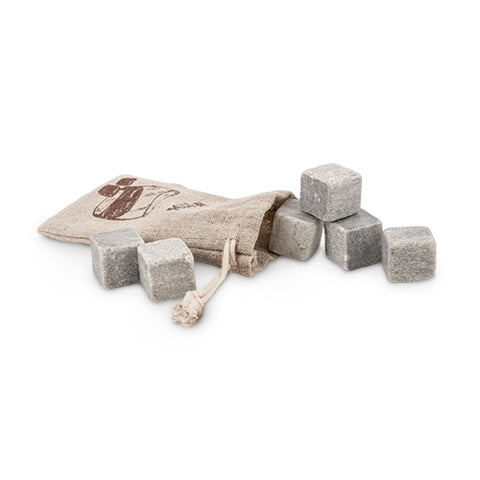 Glacier Rocks Cooling Stones, Set of 9