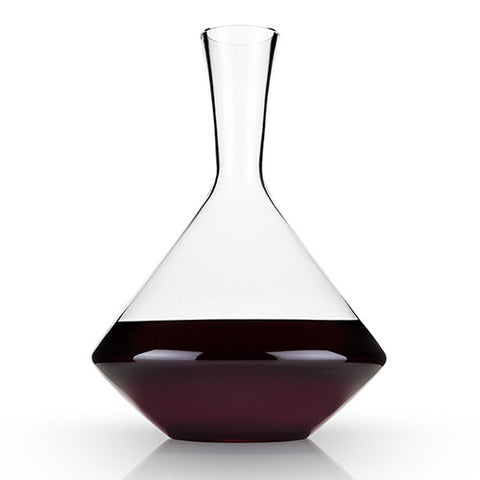 Angled Lead Free Crystal Decanter