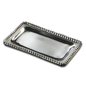 Beaded Rectangular Tray, Small         (Personalization Optional)