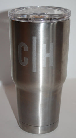 30oz Personalized Stainless Steel Tumbler