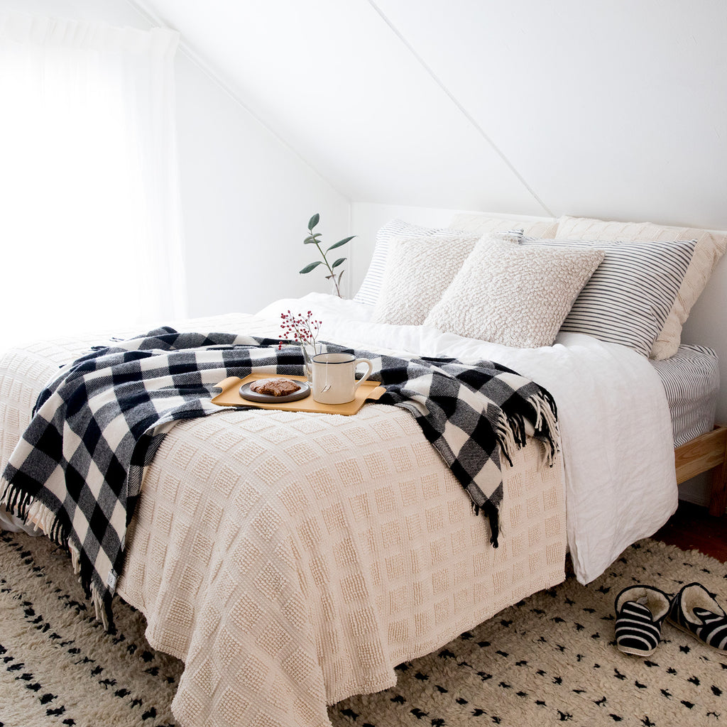 Simple How-To: Style A Cozy Bed
