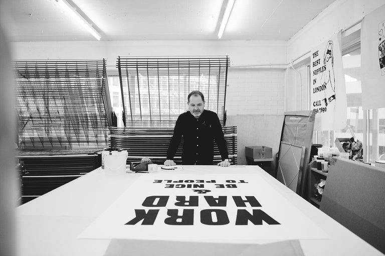 Maker Spotlight: Anthony Burrill