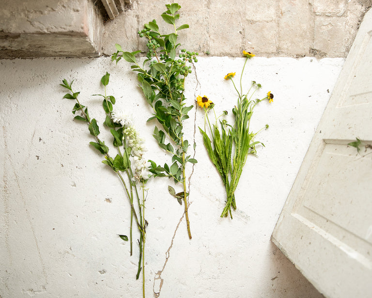 How-To: Foraged Flower Arrangement