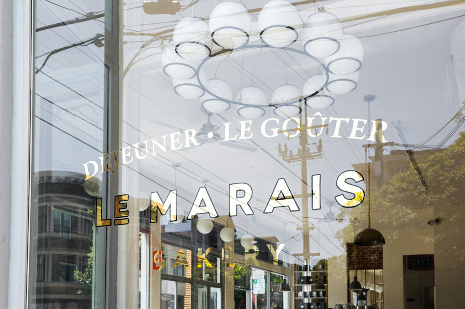 Schoolhouse Spaces: Le Marais Bakery