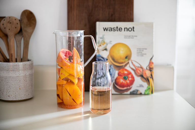 Waste Not: Citrus Vinegars Recipe