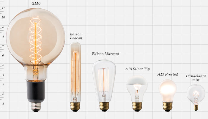 Light Bulbs | LED & Incandescent | Schoolhouse Electric:,Lighting