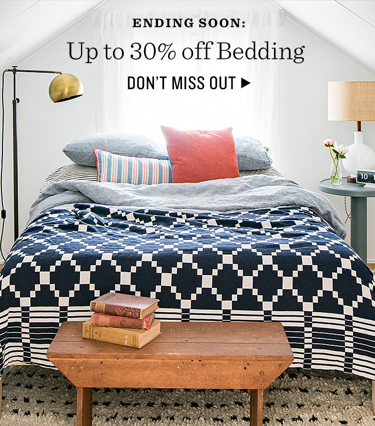 Enjoy up to 30% Off Bedding