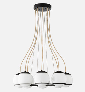 Orbit 8 Chandelier