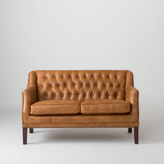 Equestrian Loveseat - Columbian Brown Sofas - Schoolhouse Electric & Supply Co.
