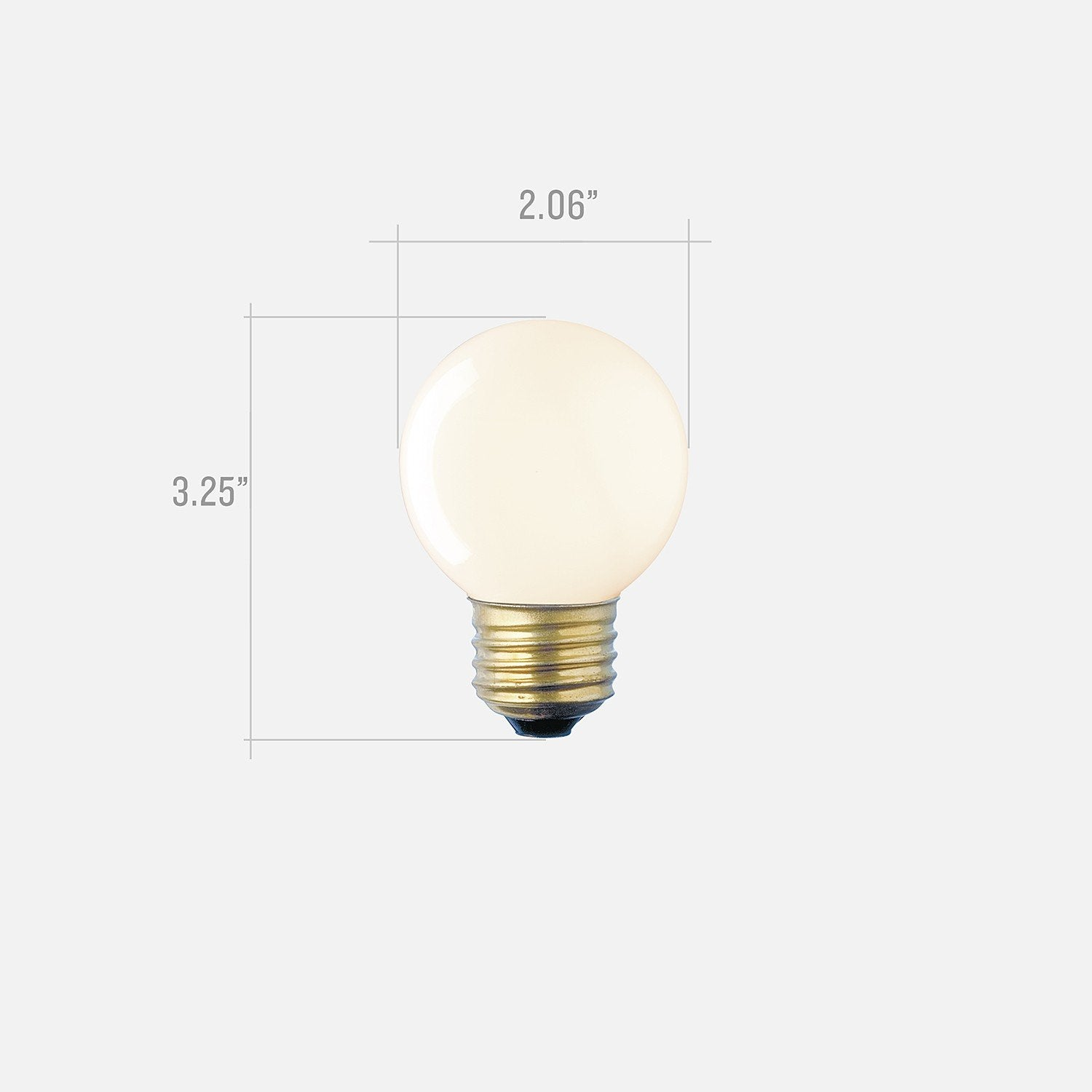 G16 Frosted Bulb
