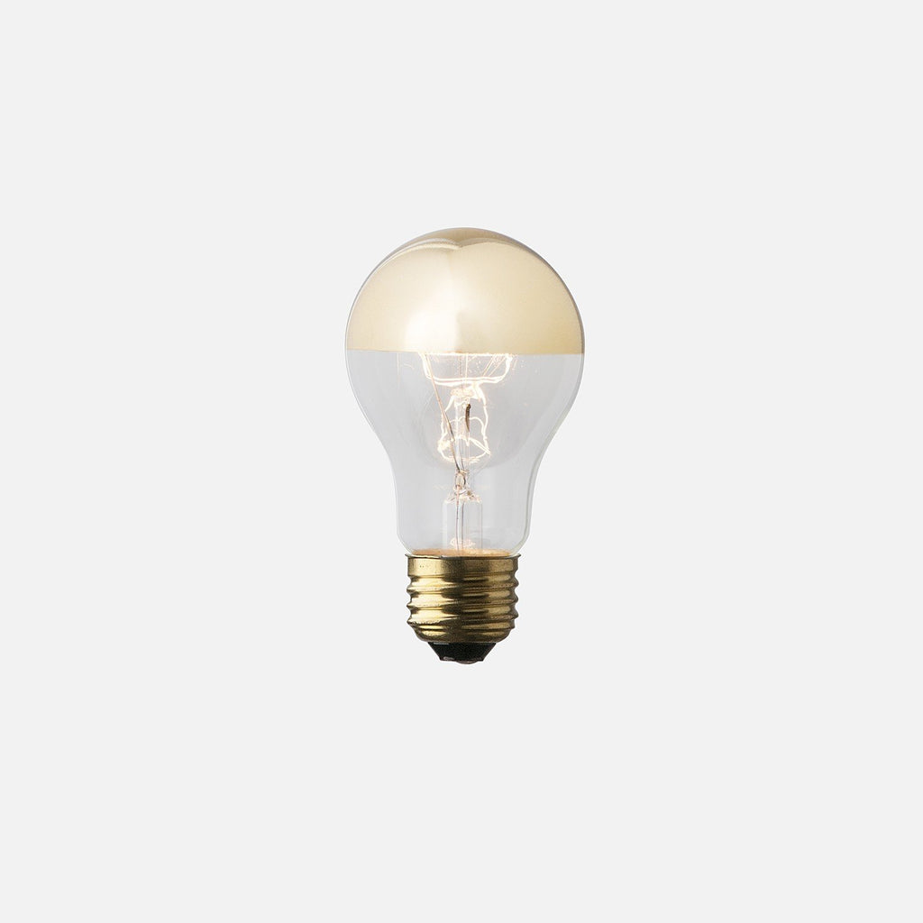 A19 Gold Tip Bulb Light Bulbs - Schoolhouse Electric & Supply Co.