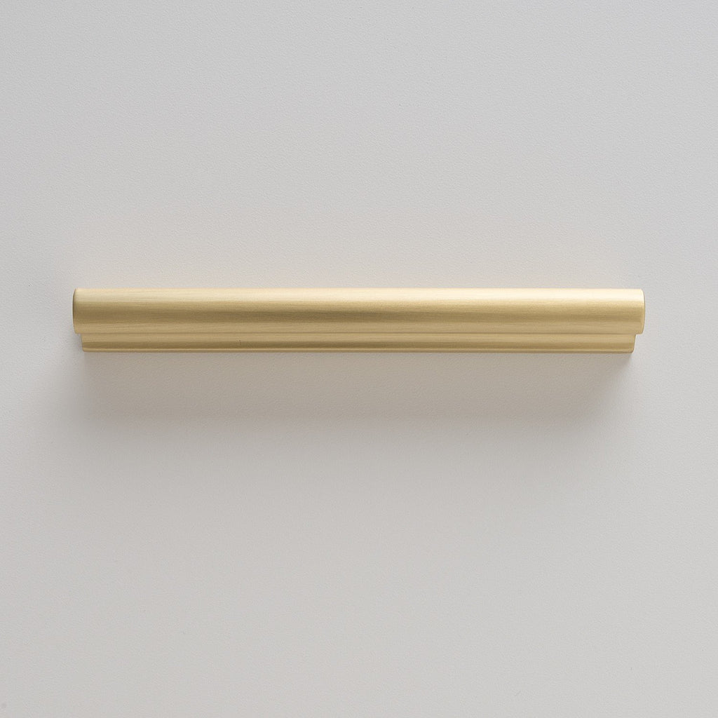 Midvale Pull - Natural Brass