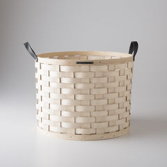 White Ash Basket - Round
