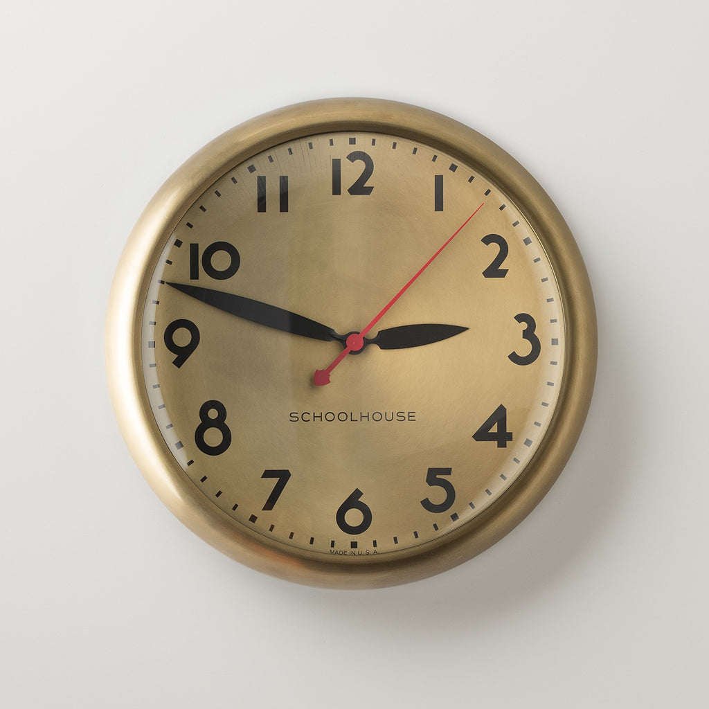 Kennedy Clock Clocks - Schoolhouse Electric & Supply Co.