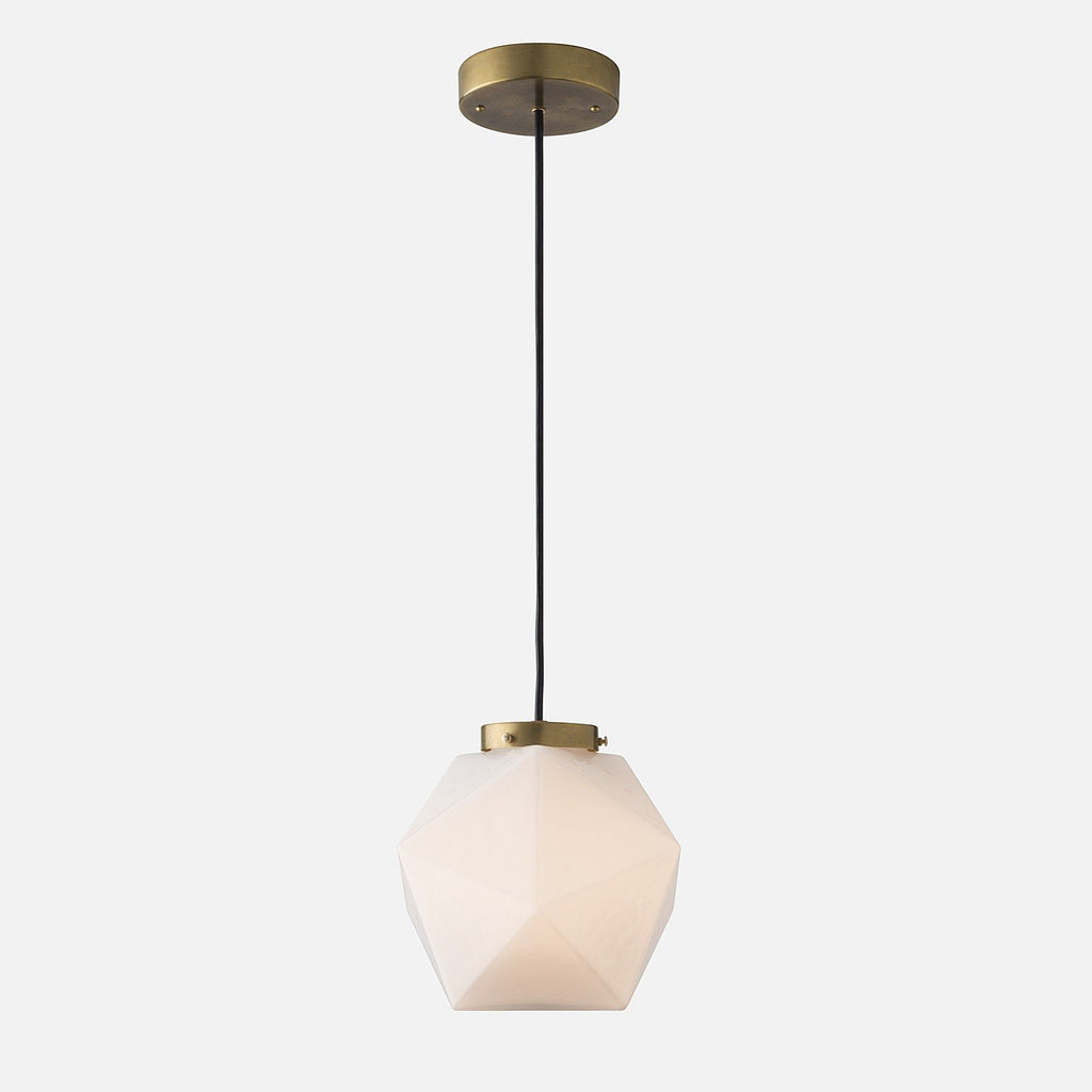 Fuller Pendant - White Glass Pendant Fixtures - Schoolhouse Electric & Supply Co.