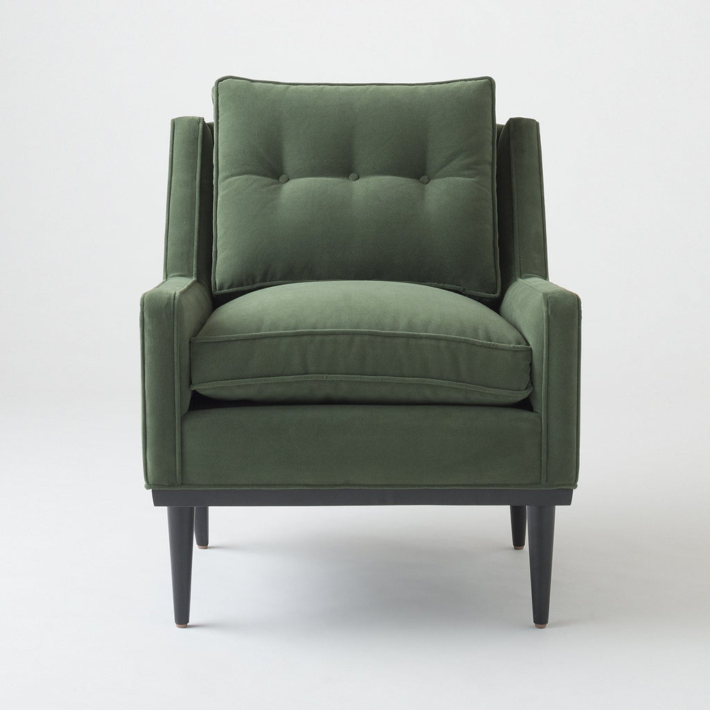 Jack Chair - Green Velvet