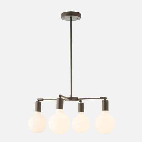Odyssey 4 Chandelier - Chandeliers Mid Century Modern Ceiling Lights Schoolhouse Electric